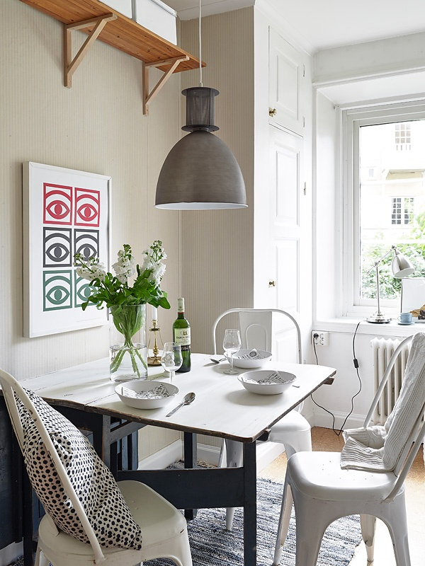 La importancia del comedor en tu casa for Comedores pequenos