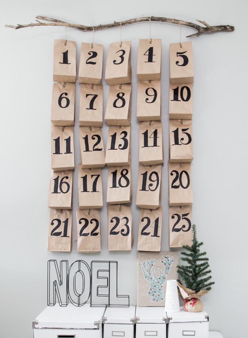 10 calendarios de adviento diy para esta navidad handbox